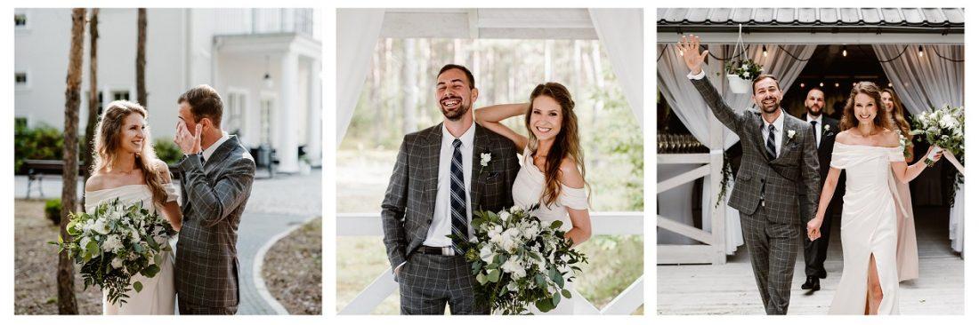 Mariola i Mateusz – romantyczny ślub plenerowy