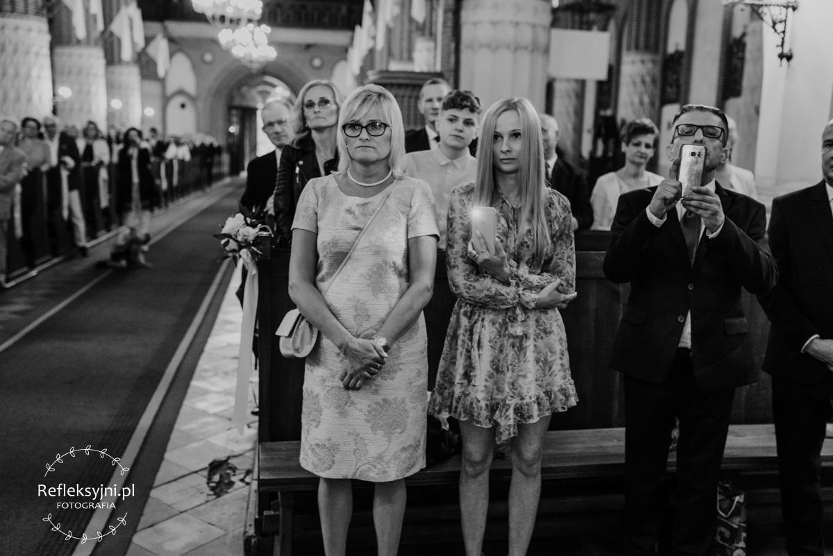 Goście podczas Mszy Świętej