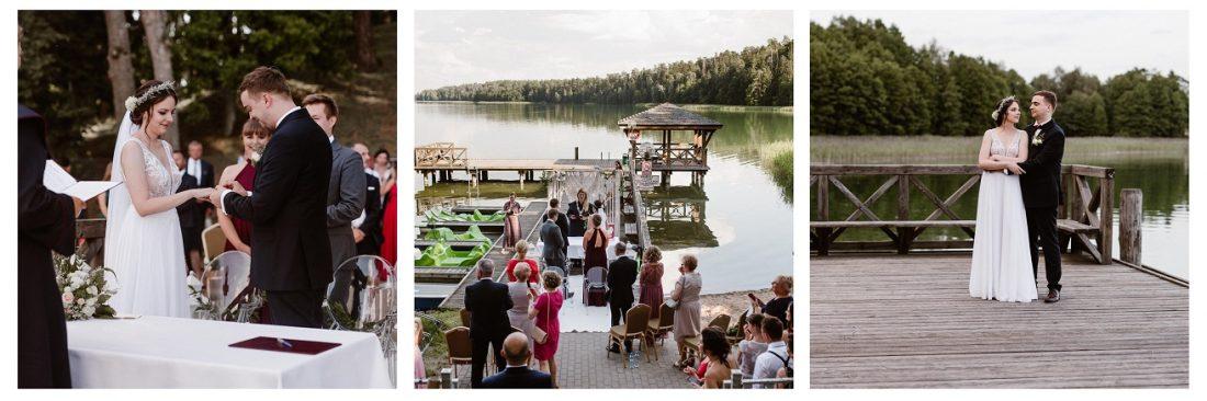 Sylwia i Maciek – ślub plenerowy nad jeziorem