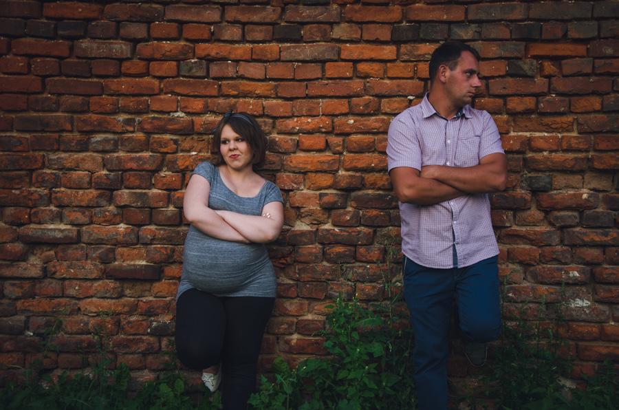 Kasia i Daniel - 2 sesja ciążowa