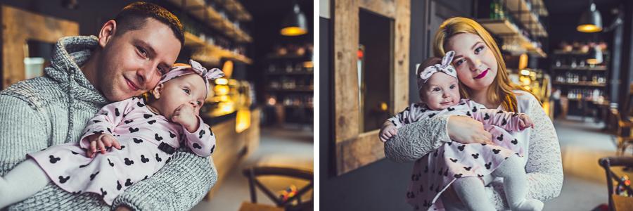 Zdjęcia rodziców z córką