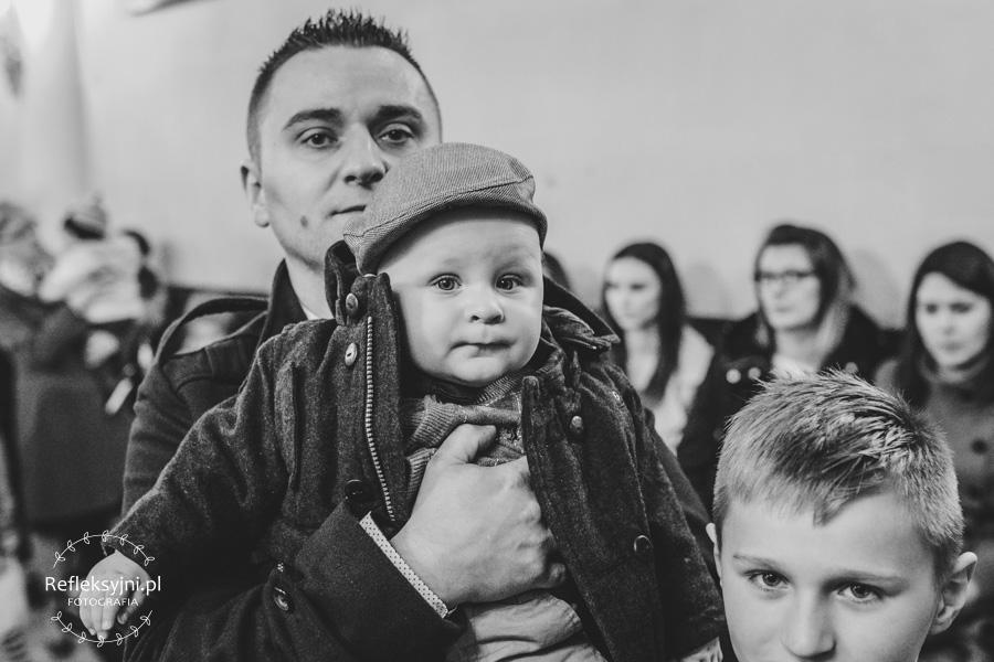 Chłopczyk z tatą