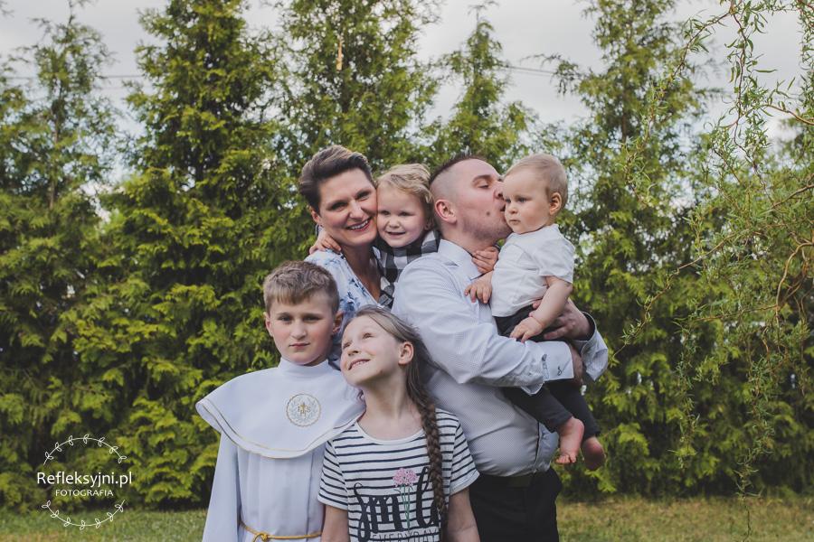 Zdjęcie grupowe rodziny