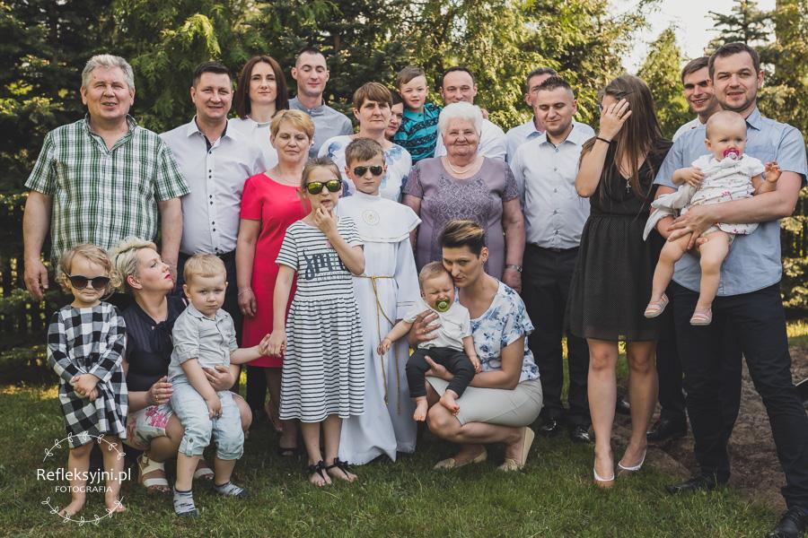 Zdjęcie grupowe komunia