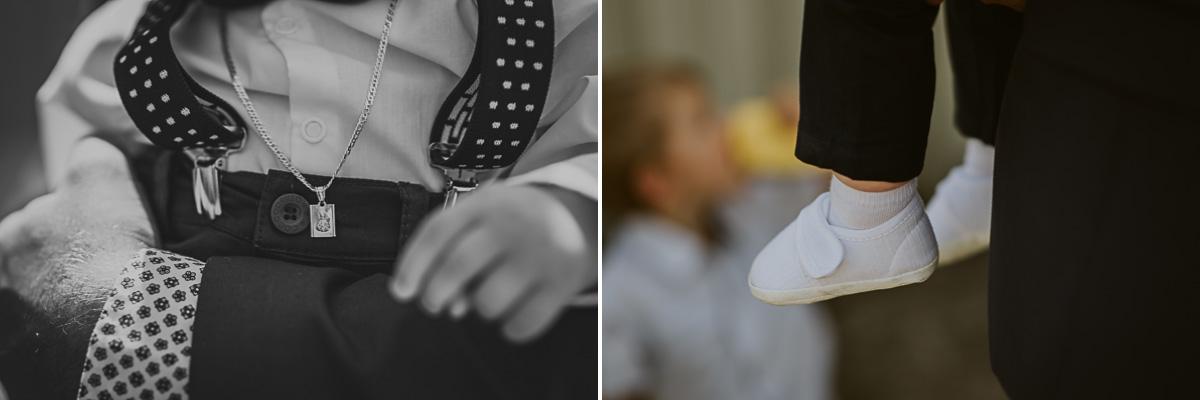 Buty i szelki dziecięce