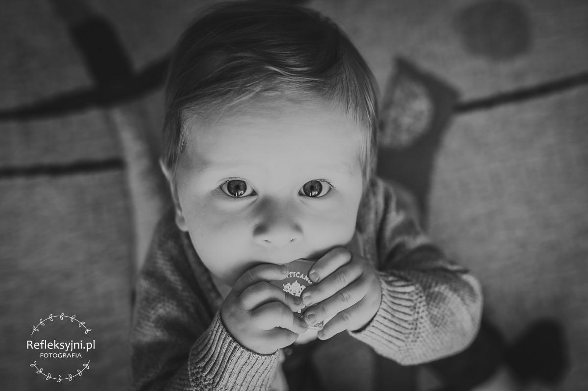 Dziecko przygotowywane do Chrztu