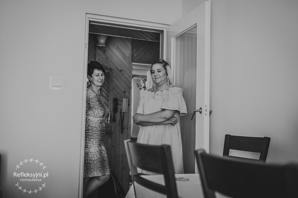 Dwie kobiety w domu