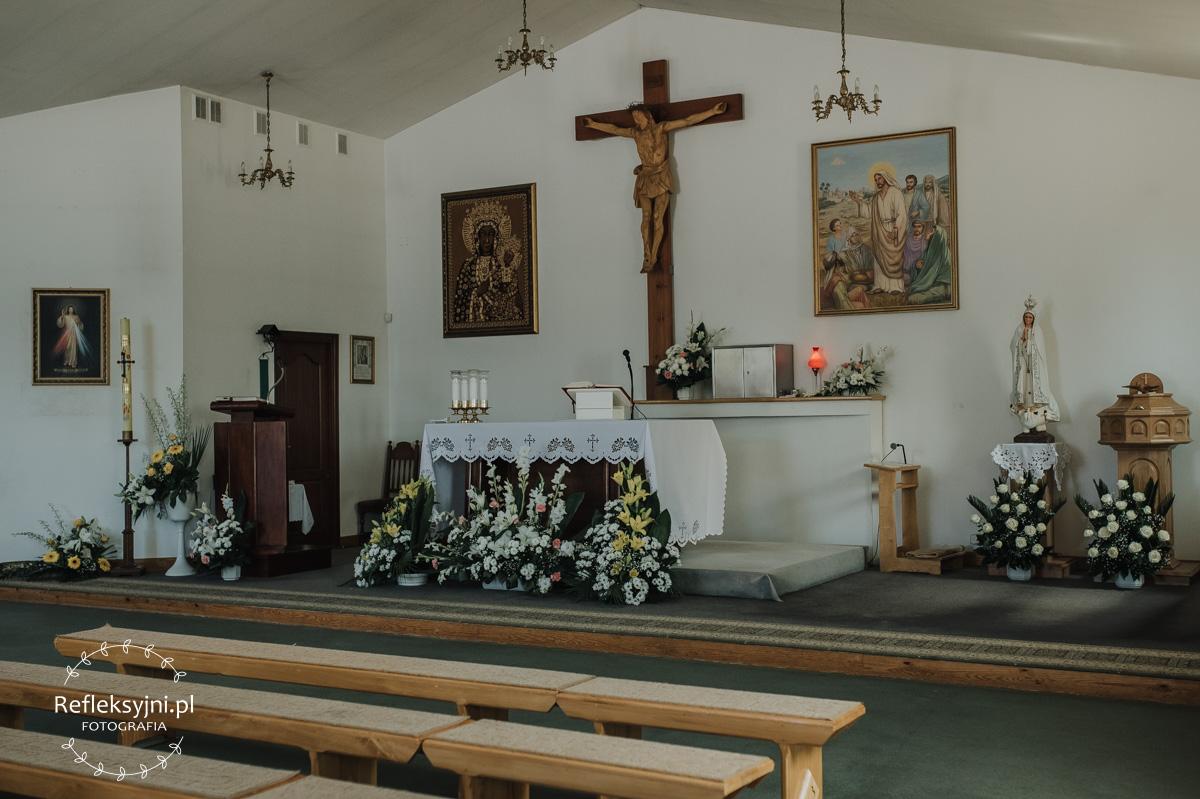 Wnętrze Kościoła w Ostrowi Mazowieckiej