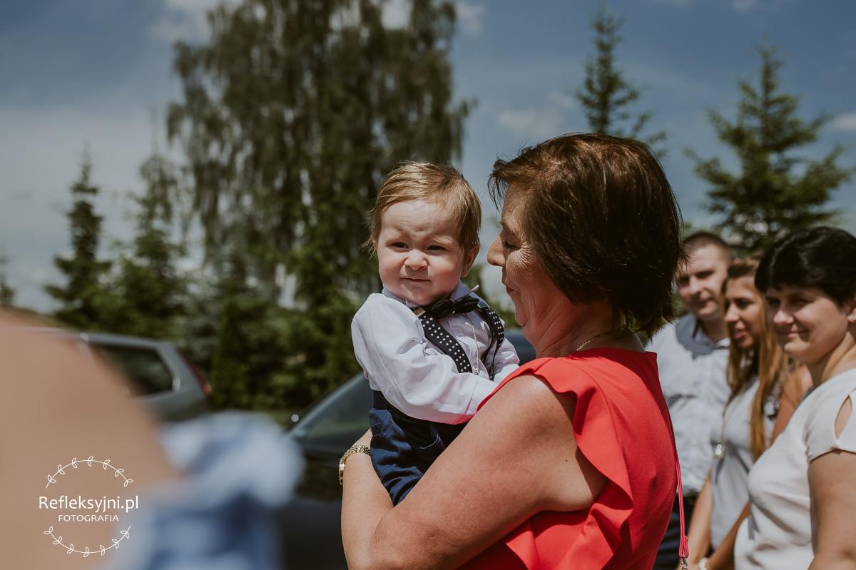 Dziecko i babcia