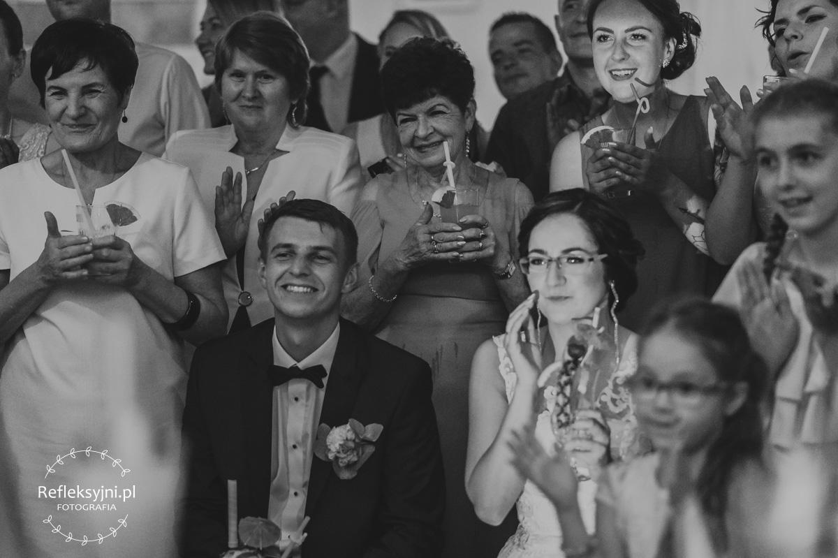 Pokaz barmański na weselu
