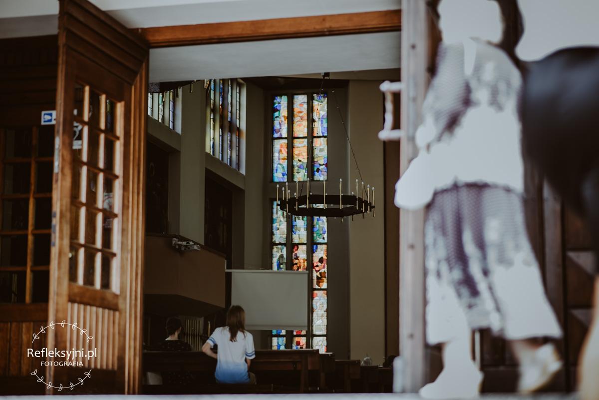 Żyrandol w Kościele