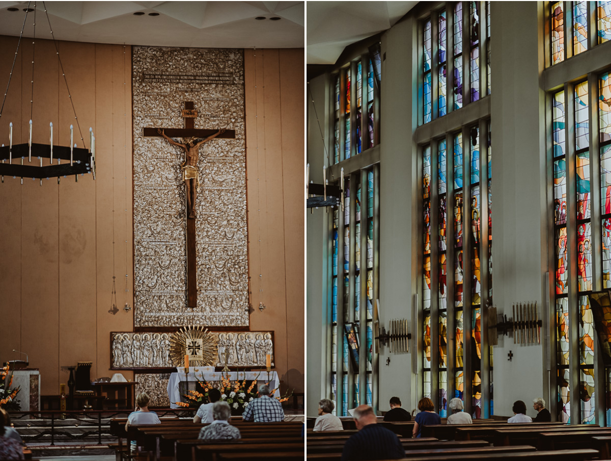 Wnętrze Kościoła w Warszawie