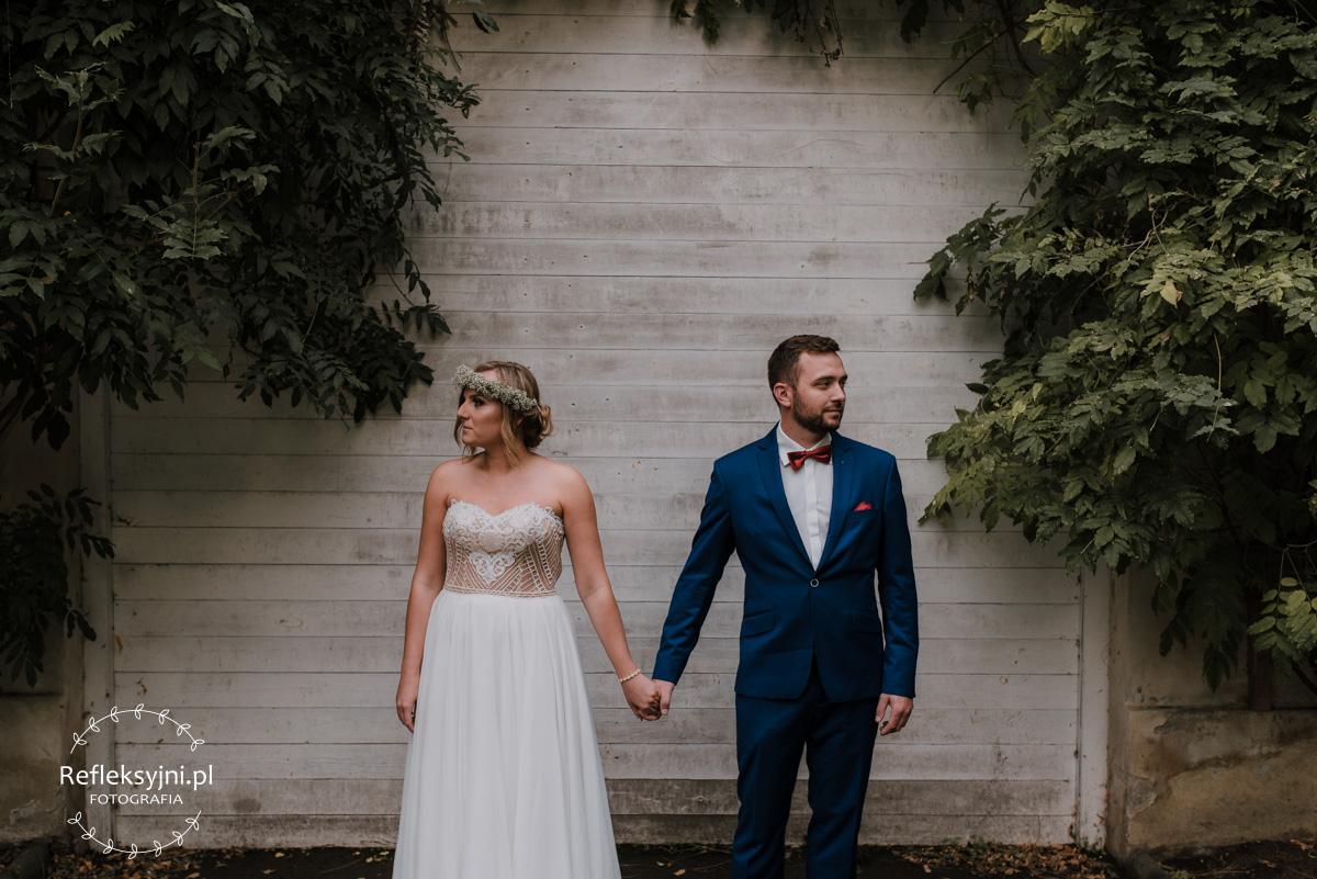 Para Młoda na sesji ślubnej w Arkadii