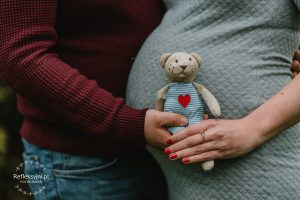 Ciąża zdjęcia zabawki