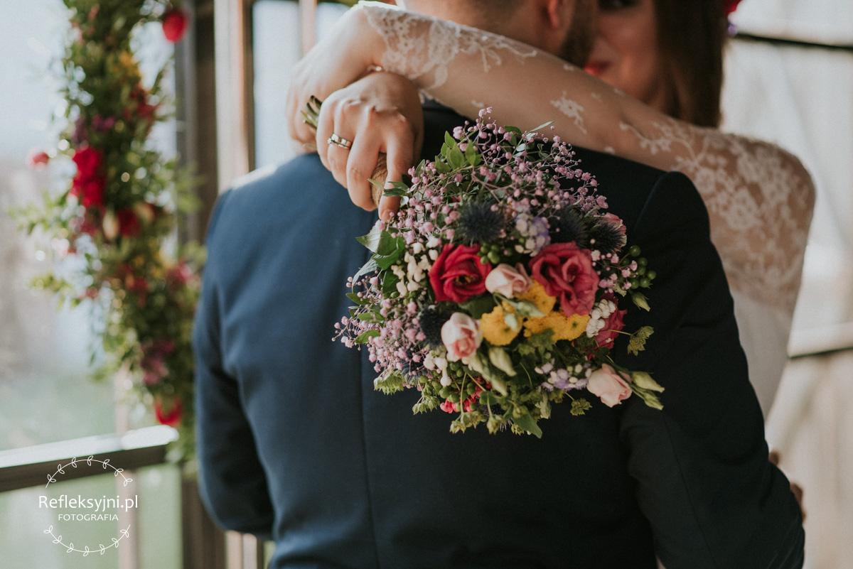 Rusnytykalny bukiet ślub