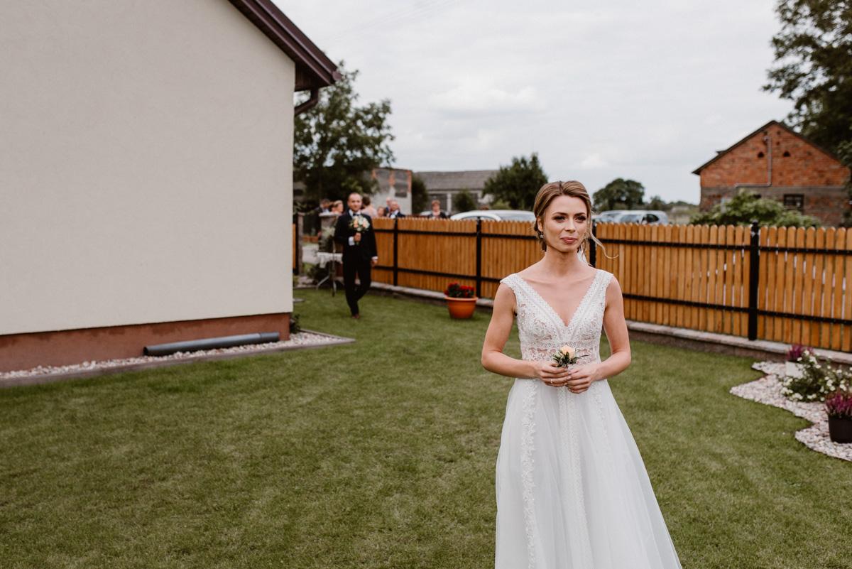 First look w ogrodzie Różan