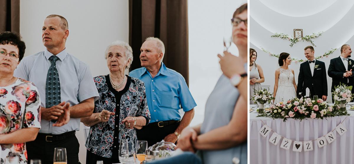 Dziadkowie i Państwo Młodzi