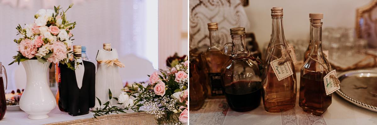 Na zdjęciu dekoracje i inspiracje ślubne
