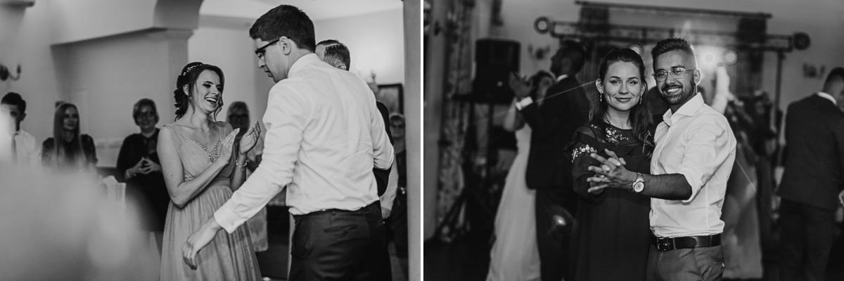 Tańczący Goście weselni