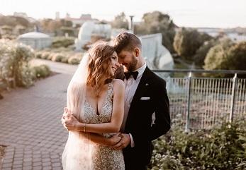 Plenerowa sesja ślubna fotograf