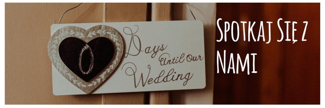 Tabliczka 0 Days Until Our Wedding