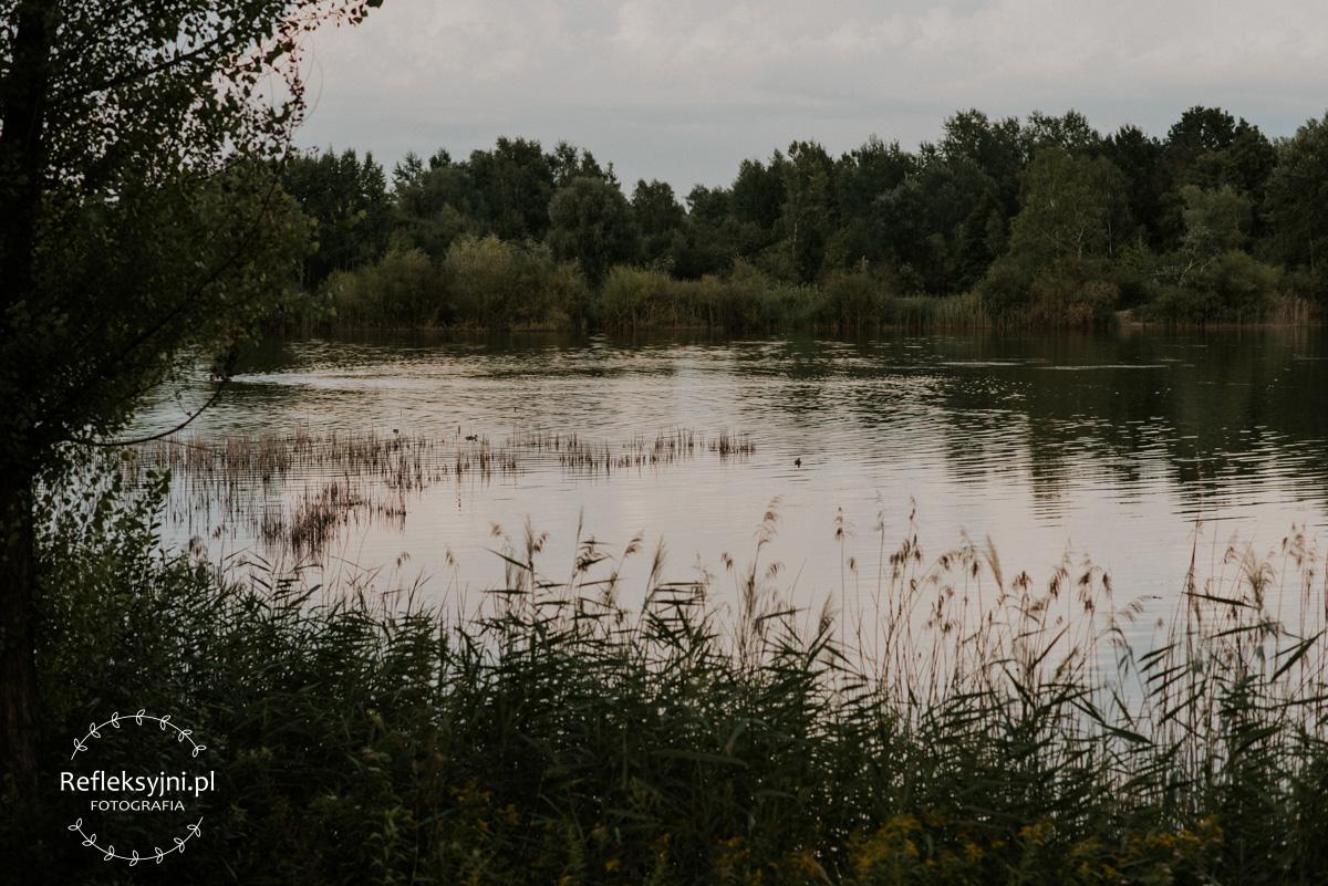 Jezioro w Zielonce